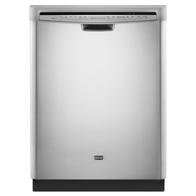 Maytag 24-in Built-In Dishwasher with Hard Food Disposer and Stainless Steel Tub (Monochromatic Stainless Steel) ENERGY STAR