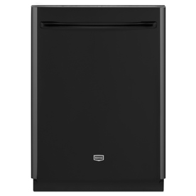 """Maytag 24"""" Built-In Dishwasher with Hard Food Disposer (Black) ENERGY STAR"""