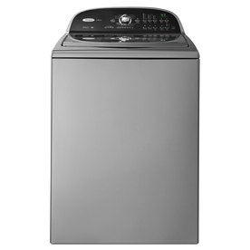 Whirlpool Cabrio 3.6-cu ft High-Efficiency Top-Load Washer (Chrome) ENERGY STAR