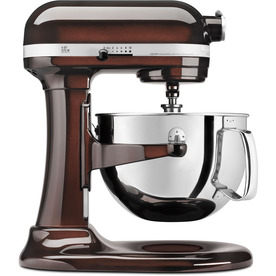 KitchenAid Professional 600 Series 6-Quart 10-Speed Espresso Stand Mixer