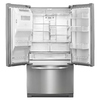 KitchenAid 28.6-cu ft French Door Refrigerator with Single Ice Maker (Monochromatic Stainless Steel) ENERGY STAR
