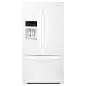 KitchenAid 28.6-cu ft French Door Refrigerator with Single Ice Maker (White) ENERGY STAR