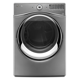 Whirlpool Duet 7.4-cu ft Stackable Electric Dryer with Steam Cycles (Chrome)