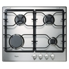 Whirlpool 4-Burner Gas Cooktop (Stainless Steel) (Common: 24-in; Actual: 23.25-in)