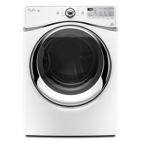 Whirlpool Duet 7.4 cu ft Reversible Side Swing Electric Dryer (White)