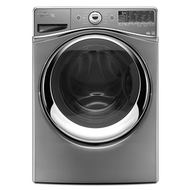 Whirlpool Duet 4.3-cu ft High-Efficiency Front-Load Washer with Steam Cycle (Chrome) ENERGY STAR