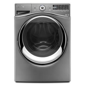Whirlpool Duet 4.3-cu ft High-Efficiency Stackable Front-Load Washer with Steam Cycle (Chrome) ENERGY STAR