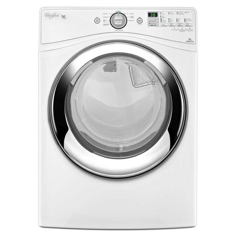 Shop Whirlpool Duet 7 4 Cu Ft Gas Dryer With Steam Cycle