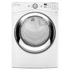 Whirlpool Duet 7.4-cu ft Stackable Gas Dryer with Steam Cycles (White)