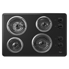 Whirlpool Electric Cooktop (Black) (Common: 30-in; Actual 30-in)