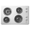 Whirlpool Electric Cooktop (White) (Common: 30-in; Actual 30-in)
