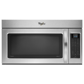 Whirlpool 2 cu ft Over-the-Range Microwave (Stainless Steel)