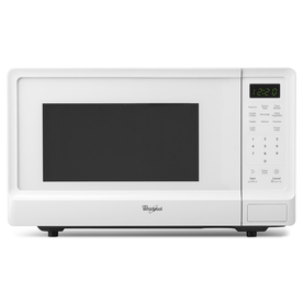Whirlpool 1.1 cu ft 1000-Watt Countertop Microwave (White)