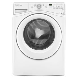 Whirlpool Duet 4.1-cu ft High-Efficiency Stackable Front-Load Washer (White) ENERGY STAR