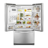 Whirlpool 26.8-cu ft French Door Refrigerator with Single Ice Maker (Stainless Steel)