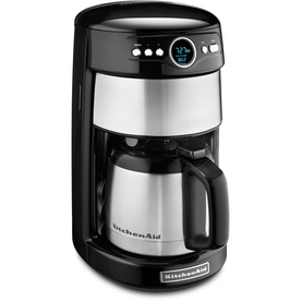 KitchenAid Onyx Black 12-Cup Programmable Coffee Maker