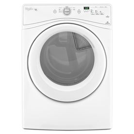 Whirlpool Duet 7.4-cu ft Stackable Electric Dryer (White)