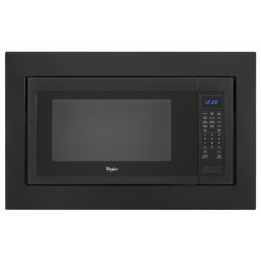 Whirlpool microwave oven built in trim kit installation for Microwave ovens built in with trim kit
