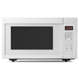 Whirlpool 1.6 cu ft 1200-Watt Countertop Microwave (White)