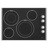 Maytag Smooth Surface Electric Cooktop (Black) (Common: 30-in; Actual 31-in)