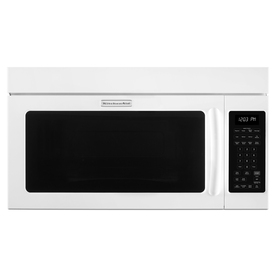 KitchenAid 1.8-cu ft Over-the-Range Convection Microwave with Sensor Cooking Controls (White) (Common: 30-in; Actual: 29.875-in)