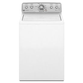 Maytag 3.6-cu ft High-Efficiency Top-Load Washer (White) ENERGY STAR