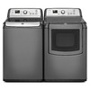 Maytag Bravos Xl 4.8-cu ft High-Efficiency Top-Load Washer with Steam Cycle (Granite) ENERGY STAR