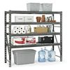 Gladiator 72-in H x 77-in W x 24-in D 4-Tier Steel Freestanding Shelving Unit