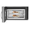 Whirlpool 1.9-cu ft Over-the-Range Convection Microwave with Sensor Cooking Controls (Stainless Steel) (Common: 30-in; Actual: 29.938-in)