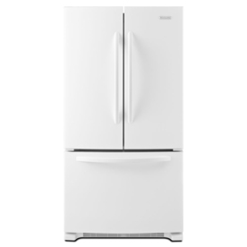 Shop Kitchenaid Architect Ii 20 Cu Ft Counter Depth French Door Refrigerator With Single Ice