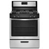 Whirlpool Freestanding 5.1-cu ft Gas Range (Stainless Steel) (Common: 30-in; Actual: 29.88-in)