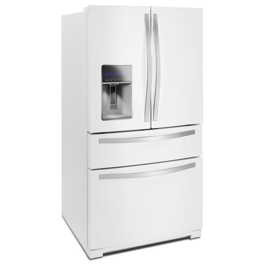 Shop Whirlpool 26 2 Cu Ft 4 Door French Door Refrigerator
