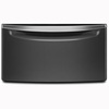 Laundry 1-2-3 15.5-in x 27-in Black Diamond Laundry Pedestal with Storage Drawer