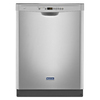 Maytag 50-Decibel Built-in Dishwasher (Monochromatic Stainless Steel) (Common: 24-in; Actual: 23.875-in) ENERGY STAR