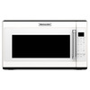 KitchenAid 2-cu ft Over-The-Range Microwave with Sensor Cooking Controls (White) (Common: 30-in; Actual: 29.87-in)