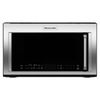 KitchenAid 1.9-cu ft Over-The-Range Convection Oven Microwave with Sensor Cooking Controls (Stainless Steel) (Common: 30-in; Actual: 29.87-in)