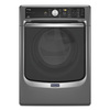 Maytag Maxima 7.3-cu ft Stackable Electric Dryer with Steam Cycles (Metallic Slate) ENERGY STAR