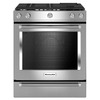 KitchenAid 5-Burner Self-Cleaning Convection Single Oven Dual Fuel Range (Stainless Steel) (Common: 30-in; Actual 29.875-in)