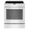 Whirlpool Gold Smooth Surface 5-Element Slide-In Convection Electric Range (White) (Common: 30-in; Actual 29.875-in)