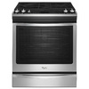 Whirlpool Gold 5-Burner 5.8-cu ft Slide-In Convection Gas Range (Stainless Steel) (Common: 30-in; Actual 29.875-in)