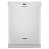 Maytag 50-Decibel Built-in Dishwasher (White) (Common: 24-in; Actual: 23.875-in) ENERGY STAR