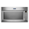 Maytag 2-cu ft Over-The-Range Microwave with Sensor Cooking Controls (Stainless Steel) (Common: 30-in; Actual: 29.9-in)