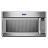 Maytag 1.8-cu ft Over-The-Range Convection Oven Microwave with Sensor Cooking Controls (Stainless Steel) (Common: 30-in; Actual: 29.9-in)