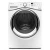 Whirlpool Duet 7.3-cu ft Stackable Electric Dryer with Steam Cycles (White) ENERGY STAR