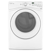 Whirlpool Duet 7.3-cu ft Stackable Electric Dryer (White) ENERGY STAR