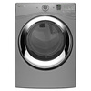 Whirlpool Duet 7.3-cu ft Stackable Gas Dryer with Steam Cycles (Chrome)