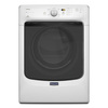 Maytag Maxima 7.3-cu ft Stackable Gas Dryer (White)