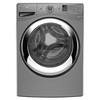 Whirlpool Duet 4.3-cu ft High-Efficiency Stackable Front-Load Washer with Steam Cycle (Chrome Shadow) ENERGY STAR