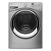 Whirlpool Duet 4.5-cu ft High-Efficiency Stackable Front-Load Washer with Steam Cycle (Diamond Steel) ENERGY STAR