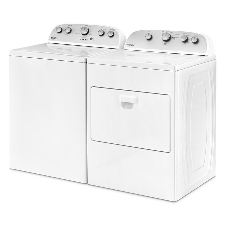 Whirlpool 7 Cu Ft Electric Dryer White In The Electric Dryers Department At Lowes Com